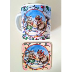 christmas_post_mug__coaster
