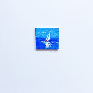 miniature_boat_oil_painting