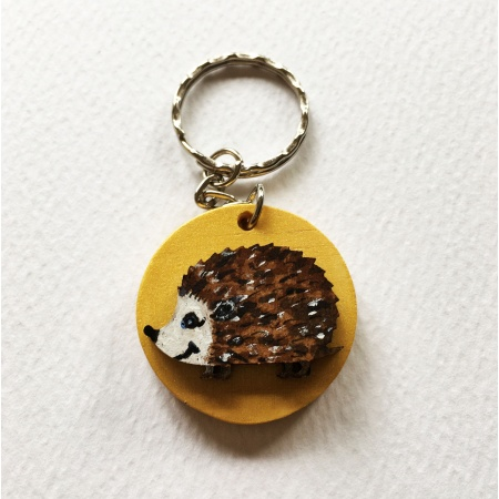 hedgehog_keyring